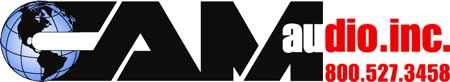 CAM Audio logo
